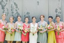 Bridesmaid dresses / by Tara Bainbridge