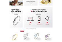 E-commerce / Sites e-commerce dont la home page est intéressante