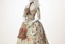 18th century : Robe à l'anglaise / anglaise retroussée en polonaise / by Heileen