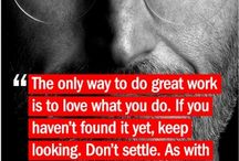 Inspirational Quotes  / Some quotes we find inspiring :)