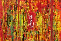 Iconic imagery Coca Cola, Nike, Paintings / This is work that explores an artistic interpretation of popular Commercial brands that impact our visual perceptions of time and place