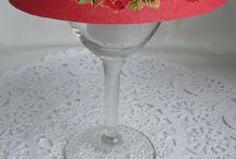 Wine glass shades