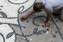 Mozaiky záhradné doplnky