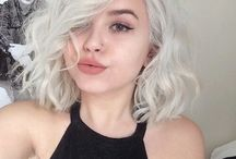 """Oc: Beth Hichiro / Beth is a logical,Funny and kind girl. When she was young her parents put her in a orphanage and she was hated cause of her white hair and red eyes. She is a fire """"witch"""" and she is in a relationship with a dork. She is stubborn but she want the bet for her closed ones"""