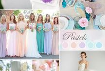 Pastel Weddings