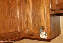 Cleaning wood cupboards