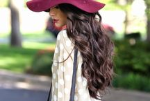 Head gear / Beautiful and stylish hats