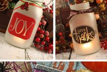 Craft Night / Different ideas for things you can make with other moms, your kids, or just as a stress release.