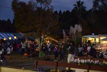 ハロウィン装飾:いすみ土楽の里2014 / 千葉県いすみ市の土楽の里さんの 人気イベントハロウィン2014装飾担当させていただきました