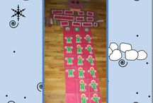 kinder...making #'s fun / 1 2 3, watch and see. 4 5 6, our math tricks. 7 8 9 we won't even whine.