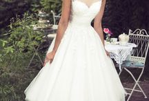 Wedding short dresses / Here are a few styling, which show that even in a short dress the bride can look beautifully!