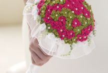 bouquet floreali crochet
