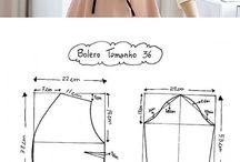 střihy oblečení