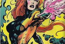 Jean Grey / Jean Grey AKA Phoenix, one of the strongest X-men around