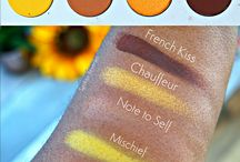 Swatches / A collection of makeup swatches