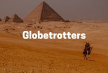 Globetrotters in History / Inspirational women from all over the world that have paved the way for today's wanderlusters.