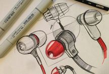 industrial product design sketch