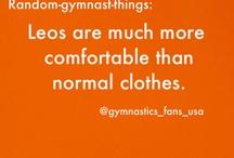 It's a gymnast kinda thing