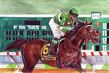 Race Horses In Art 05- Notable 21th Century American Raced Colts And Geldings / Horse born from 2000