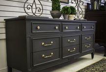 Chalkpaint furniture