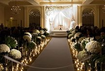 Wedding Aisles / Decorate your wedding aisle to reflect your personality and style. / by Love Wedding Planning