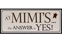 Mimi signs