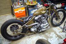 Bobber-Motorrad