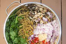 ONE POT PASTA / Des ingrédients, une casserole, un plat
