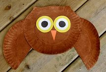 Preschool Owl Crafts / by Christy Price