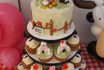Animal Barnyard Themed Birthday Parties