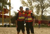 Zawody w ratownictwie wodnym - Sława 2012