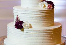 Marsala Cake Inspiration