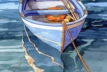 łódki, łodzie