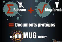 The big MUG theory / Campagne de communication pour l'utilisation d'un mug fermé dans les bibliothèques
