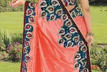 Embroidered Saree / Indian #Saree,Embroidered #Saree