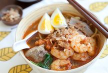 Indonesia, Malaysia, Singapore / Malaysian Cuisines / by Germaine Vitello