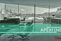 Apexfine- A new name for innovation / A combination of German technology & Italian design, Apexfine is an innovative sliding glass door system. The combination between maximizing visibility and minimizing frame components is what characterizes this state of the art system. ApexFine speaks excellence, beauty and sophistication. #Apexfine #Ponzio #beautexluxuryconcepts #windows #Aluminium #doors #designersdome #interiordesign #designreferences #design2016 #exteriors #luxury