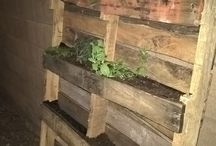pallets / thought of fun things to do when looking at them