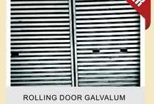 FOLDING GATE /  FOLDING GATE DAN ROLLING DOOR