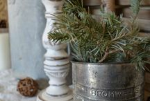 farmhouse winter decor