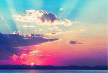 zachod słońca