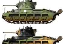 Allied Tanks Colours