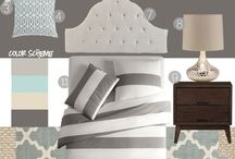Neat Bedroom Styles / by Kimberly Cox