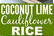 Cauliflour rice ailing
