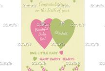 Zazzle ~ New Baby Cards