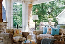 """Outdoor Living, Porches, Sunrooms, Patios / by Kathy with a """"K"""""""