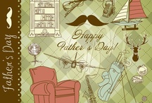 Father's Day / Fun Father's Day Ideas from downloadable clip art to gifts to decor. #fathersday