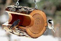 BIRDS - FEEDERS and BATHS