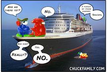 CHUCKFAMILY Cartoons / Enjoy the funny comics of the CHUCKFAMILY! Let them brighten up your day!