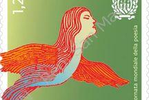 Cod. 631: Giornata mondiale Poesia / Emissione filatelica di UFN - San Marino del 10 marzo 2016